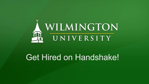 Thumbnail for entry Get Hired on Handshake