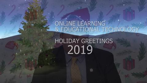 Holiday Greetings 2019