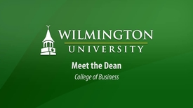 Thumbnail for entry Meet the Dean of the College of Business