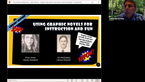 Thumbnail for entry Take 15-Graphic Novels for Fun & Learning