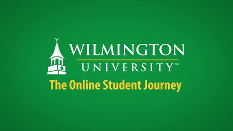 Thumbnail for entry The Online Student Journey at WilmU