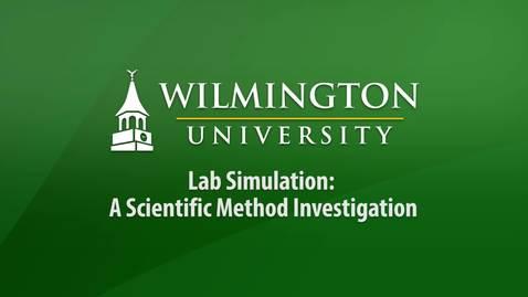Lab Simulation - A Scientific Method Investigation
