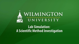 Thumbnail for entry Lab Simulation - A Scientific Method Investigation