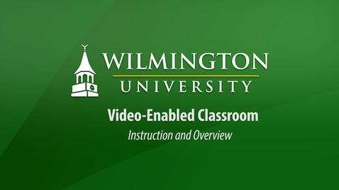 Thumbnail for entry Video Enabled Classroom Demonstration
