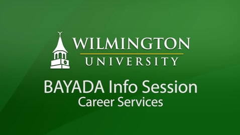 Thumbnail for entry BAYADA Info Session