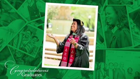 Thumbnail for entry May 2020 Commencement Ceremony - Graduate