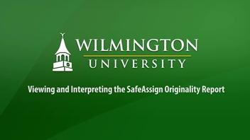 SafeAssign | Wilmington University