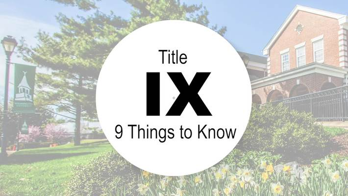 9 Things to Know about Title IX