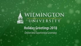 Thumbnail for entry Holiday Greetings from Online Learning and Educational Technology 2018