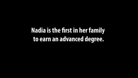 Thumbnail for entry Nadia Testimonial