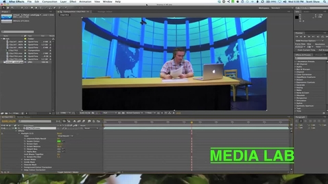 Thumbnail for entry Editing Green Screen - Media Lab Workshop #5