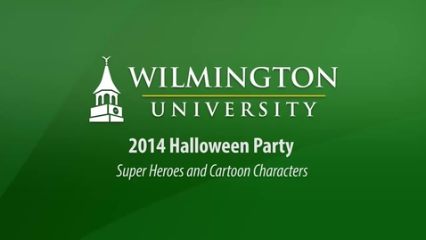 Thumbnail for entry 2014 Halloween Party: Super Heroes and Cartoon Characters