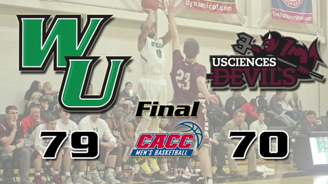 Thumbnail for entry Men's Basketball vs. USciences