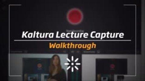 Thumbnail for entry Kaltura Capture Desktop Recording Tool: Quick Start
