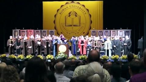 Rowan University 2014 Undergraduate Commencement Ceremony