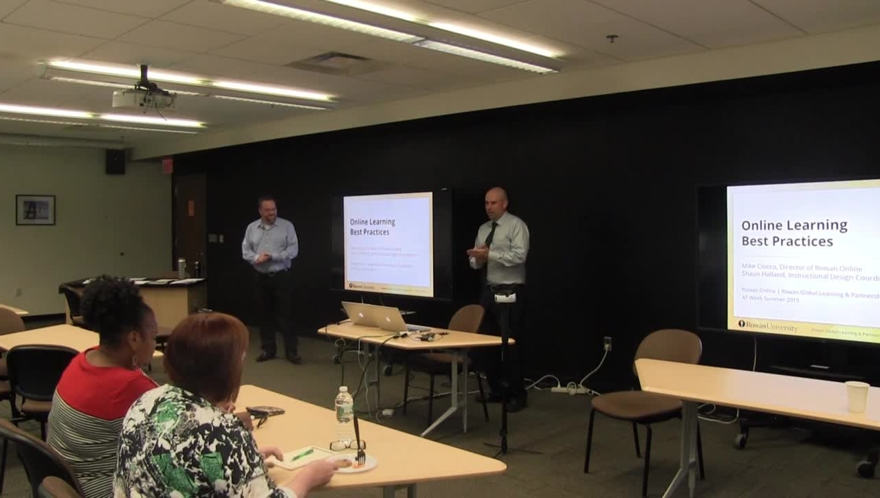 ATW2015 Intro to Best Practices in Online Course Design