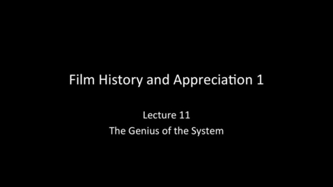Thumbnail for entry RTF03270 - Lecture 11