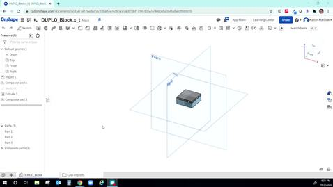Thumbnail for entry How to test your OnShape Duplo design
