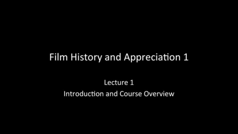 Thumbnail for entry RTF03270 - Lecture 01