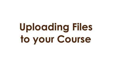 Thumbnail for entry Uploading Files