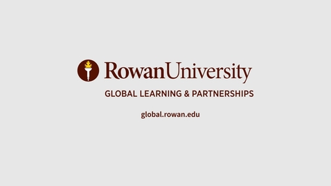 Thumbnail for entry Rowan Global - 5 Tips for Acing the GRE