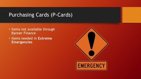 Thumbnail for entry 02 - P Card - Approver Access