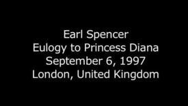 Thumbnail for entry Earl Spencer - Eulogy of Princess Diana