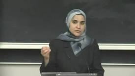 "Thumbnail for entry Dalia Mogahed lecture: ""Who Speaks for Islam?"""