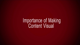 Thumbnail for entry Importance of Making Content Visual