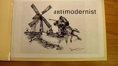 Thumbnail for entry AntiModernist by Dmitri Sandbeck