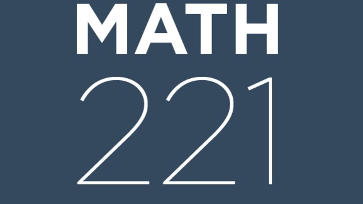 Thumbnail for channel Math 221