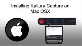 Thumbnail for entry Installing Kaltura Capture on OSX (April 2019)