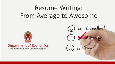 Create Résumés and Cover Letters – Department of Economics ...