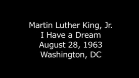 Thumbnail for entry Martin Luther King, Jr. - I Have a Dream