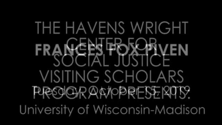 Thumbnail for channel Havens Wright Center for Social Justice