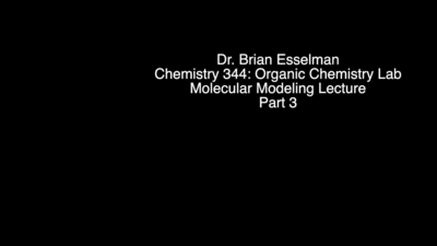 Experiment 4: Computational Molecular Modeling (WebMO) | UW