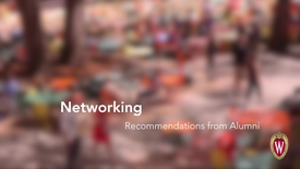 Thumbnail for entry L&S Alumni Recommendations: Networking