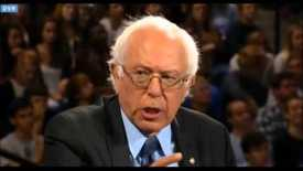 Thumbnail for entry Bernie Sanders responds to abortion question at Liberty University