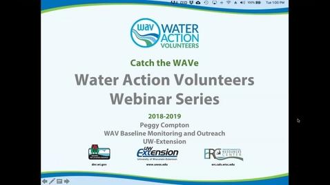 Thumbnail for entry WAV Webinar Series:  Streamflow Explained
