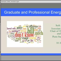 Thumbnail for channel CEREL Energy Education Webinar Series