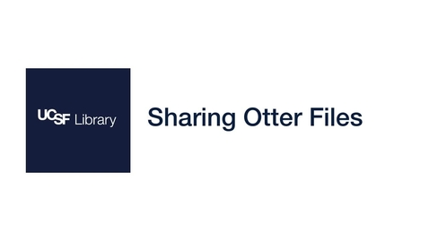 Thumbnail for entry Sharing Otter Files