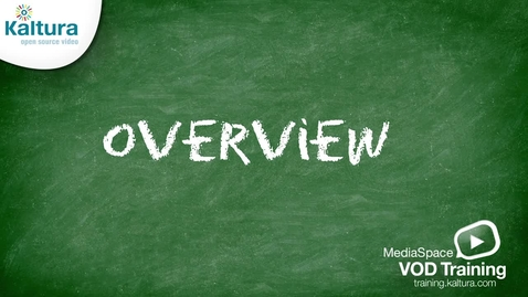 Intro to MediaSpace