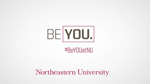 Thumbnail for entry #BeYouatNU