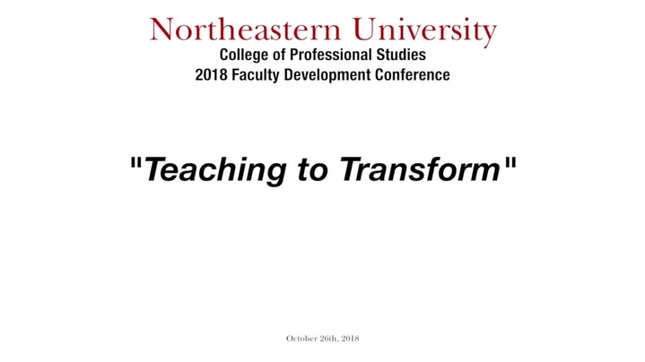 Thumbnail for channel 2018 - CPS Faculty Conference