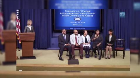 Thumbnail for entry DLP Student Discusses Visit to the White House