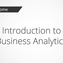 Thumbnail for channel Business Analytics Methods