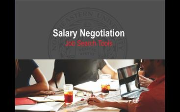 Salary and Job Offer Negotiation | Employer Engagement and Career Design