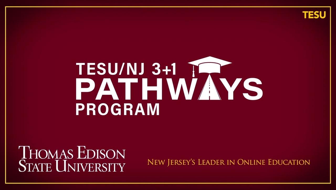 TESU/NJ 3+1 Pathways Program