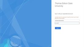 Thumbnail for entry Change myEdison Portal Password