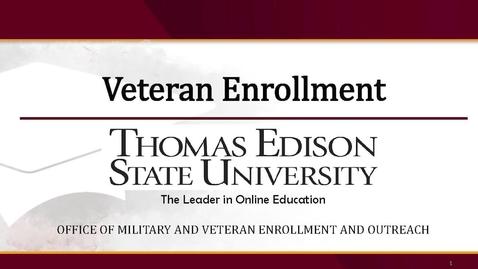 Thumbnail for entry Veteran Enrollment Presentation